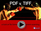 view the pdf vs. tiff slideshare